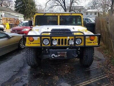 1997 Hummer H1 Open Top 1997 Am General Hummer H1 4 Door Open Top