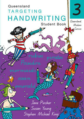 NEW Targeting Handwriting QLD Year 3 Student Book educational textbook