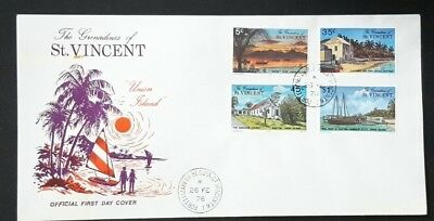 St.Vincent Postage and 2 first day covers