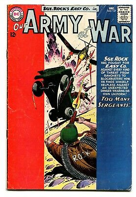 Our Army at War #137 DC Comics 1963 GD+ 3.0