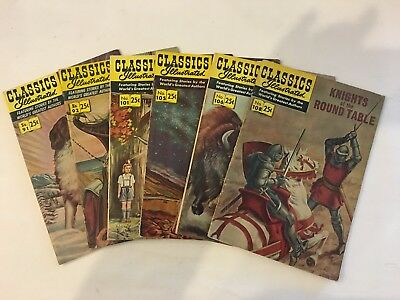 Classics Illustrated lot of 6 Issues * # 91 - 108 * Lot 6.3