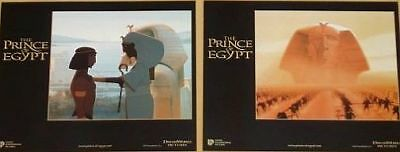 THE PRINCE OF EGYPT - 11x14 US Lobby Cards Set - ANIMATION - Dreamworks
