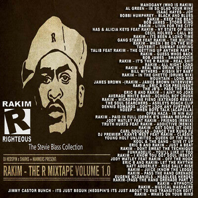 Best Of The R 1.0 RAKIM Mixtape DJ Compilation Mix CD Old School Lovers Mix