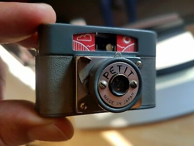 Rare Subminiature Camera PETIT, Made in Japan