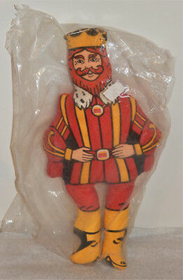 """1970's Vintage BURGER KING """"THE KING"""" Promotion Stuffed Toy Made in the USA"""