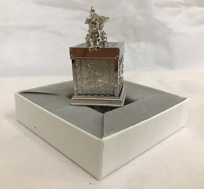 Lunt Silversmiths New In Box Tooth Fairy Box