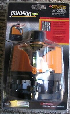 Johnson Level  40-0922 Rotary Laser ---------- BRAND NEW----!!!!!!!!!!!!!!!!!!!