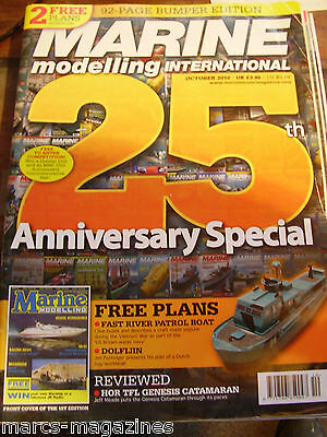 Model Boats Marine Modelling Oct 2010 Dolfijin River Patrol Boat Plans Norfolk