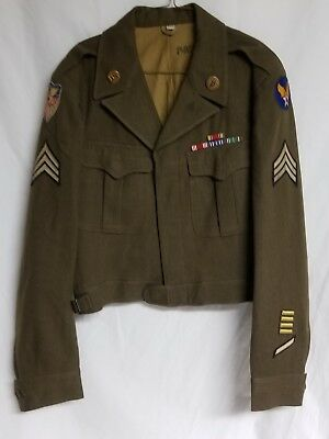 Original WWII US Army Air Corps, Strategic Air Air Force Ike Jacket