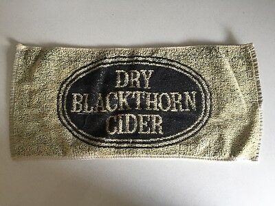 Dry Blackthorn Cider Bar Towel Mat Man Cave Great Condition