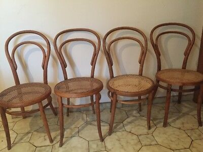 Restored Bentwood Chairs (x4)