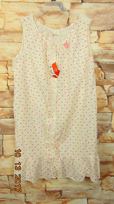 Vintage Lane Bryant  Floral Print 100% cotton  Night Gown SIZE (2X or 3X) 50/52