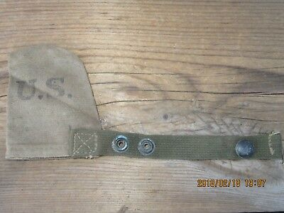 22L100%Orig WWII WW2 M1 Garand 1903 M1 Carbine Muzzle Cover Pouch D-Day 1944