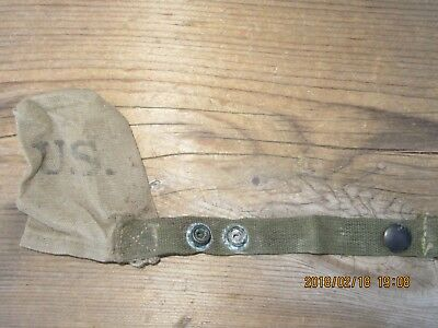 24L100%Orig WWII WW2 M1 Garand 1903 M1 Carbine Muzzle Cover Pouch D-Day 1944