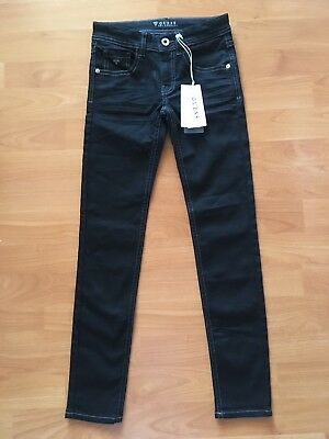 GUESS LOS ANGELES GIRLS Black Skinny Jeans SIZE 8 BRAND NEW