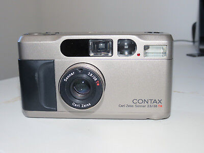 Contax T2 35mm Film Compact Camera