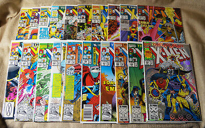 Uncanny X-Men Vol 1 LOT Single Issues NM Condition w/ Bag and Board 50+ Issues!
