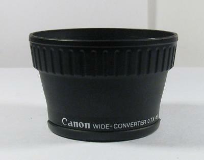 Canon Wide-Conversion 0.7X Auxiliary Lens 46mm Thread 0.7x 46