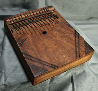 Handmade Kenyan Finger Piano African Musical Instrument Made in Africa