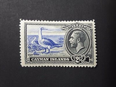 1935 Cayman Islands 2/- Booby Birds Stamp - Great Condition