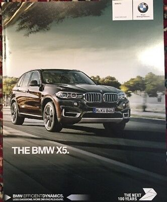 Rare The BMW X5 Brochure 66 Pages The Next 100 Years