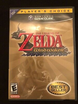 The LEGEND of ZELDA: The Wind Waker (Nintendo GameCube) * Complete *