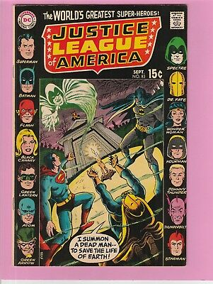 Justice League of America #83 Superman Batman Spectre Dr.Fate