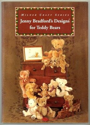 Craft Book - Jenny Bradford's Designs For Teddy Bears