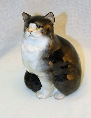 "~ ROYAL DOULTON CAT Kitty VINTAGE PORCELAIN FIGURINE Beautiful Large 5"" ~"