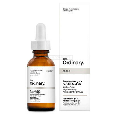 The Ordinary Resveratrol 3% Ferulic Acid 3% 30ml Water Free Antioxidant Formula