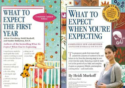 What To Expect When You're Expecting + What To Expect The First Year