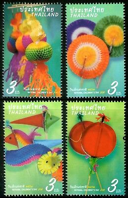 Thailand 2018 Children's Day set of 4 Mint Unhinged