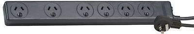 Jackson Power Board Spaced-Sockets - Spike & 10A Protected 6