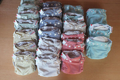 Bambooty Easy Dry All in One Modern Cloth Nappies MCN Medium