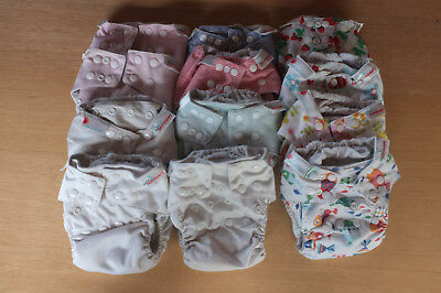 Bambooty Easy One Size Nappies - Bundle x 12