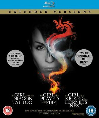 The Girl Who... Millennium Trilogy (Extended Versions) (Digipak) (Blu-ray)
