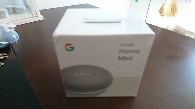 Google Home Mini Brand New and Sealed