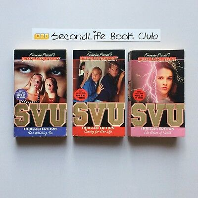 x3 SWEET VALLEY UNIVERSITY THRILLER EDITIONS ~ Pascal (1995) #2, 4, & 5.