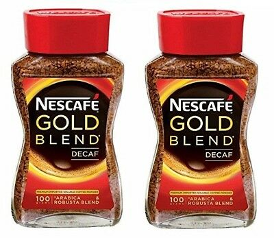 Nescafe Gold Blend Decaf Coffee, 100g (pack of 2)
