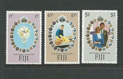 1981 Royal Wedding set 3 SG 612 - 614  Complete MUH/MNH as Issued