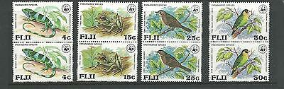 1979 Endangered Wildlife WWF set in Pairs SG 564- 567 Complete MUH/MNH as Issued