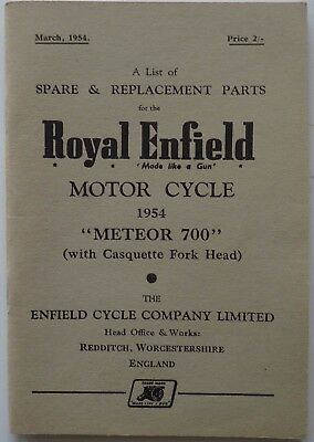 Spare and Replacement Parts for the Royal Enfield Meteor 700 (with Casquette For