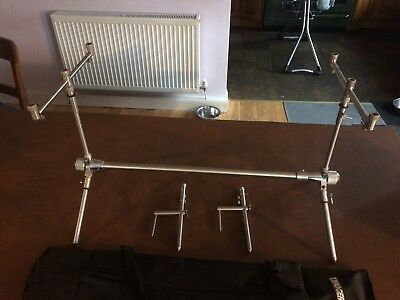 Stainless Steel Rod Pod with single bank sticks and stabilisers