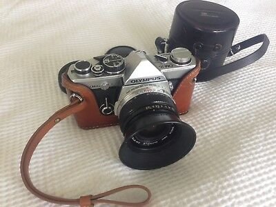 OLYMPUS OM-2N with 28mm 2.8 and Accessories