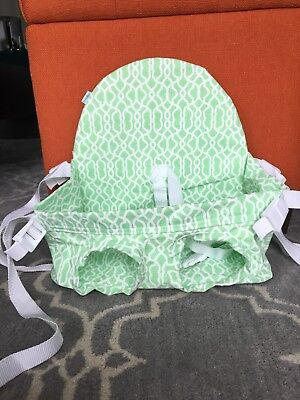 Buggy Bench Shopping Cart Seat Seafoam Green for Baby, Toddler (great for twins)