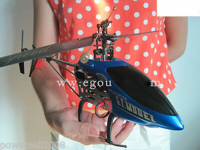 New Blue Length 50CM Remote Control Plane Helicopter Model Gift Children Toys