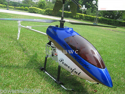 New Blue Length 105CM Remote Control Plane Helicopter Model Gift Children Toys