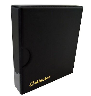 Collector Coin Album IN CASE - for 300 mix sizes coins Book Folder - BLACK