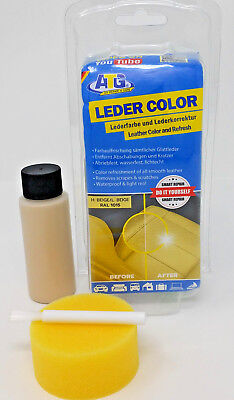 ATG lederbarbe Beige einziehfarbe Dye Real Leather Faux Leather Smooth Leather