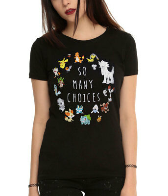 Pokemon So Many Choices Juniors T-Shirt